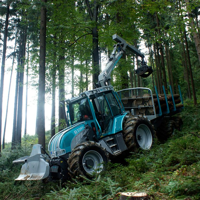 Miško traktoriai PFANZELT